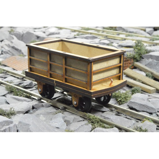 Steel Slate Wagon