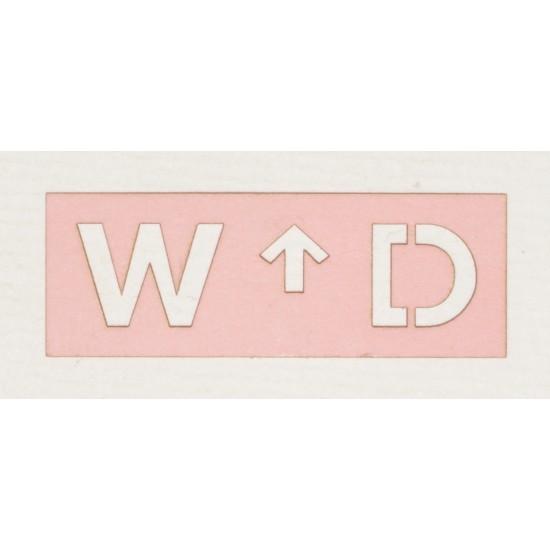 WD Squat Arrow Logo