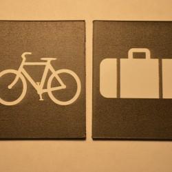 WHR Luggage Wagon Signs