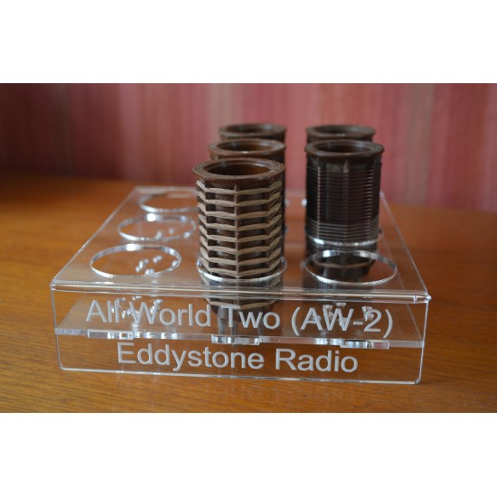 Eddystone AW-2 Coil Holder