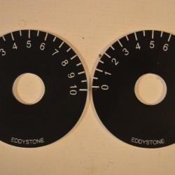 Eddystone AW-2 Small Dials