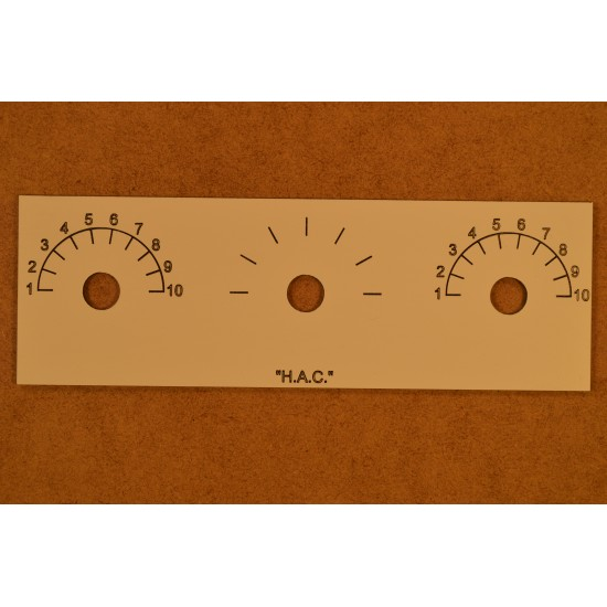H.A.C. Front Panel