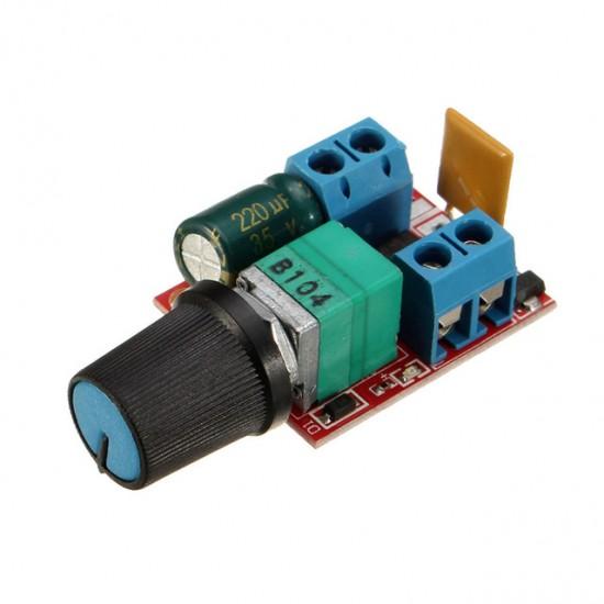 Manual PWM Speed Controller 5 Amp