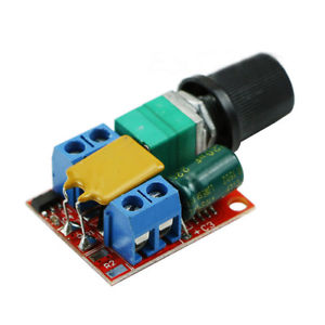 Manual PWM Speed Controller 5 Amp