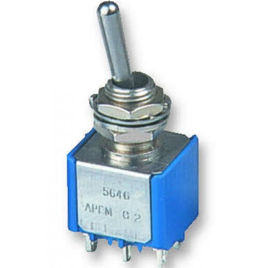 DPDT Centre OFF Toggle Switch